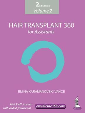 Picture of Hair Transplant 360 for Assistants (2nd Edition) - Volume 2
