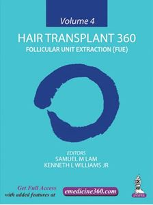 Picture of Hair Transplant 360: FUE - Volume 4