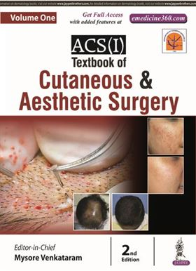 Picture of ACS(I) Textbook of Cutaneous and Aesthetic Surgery - Volume 1